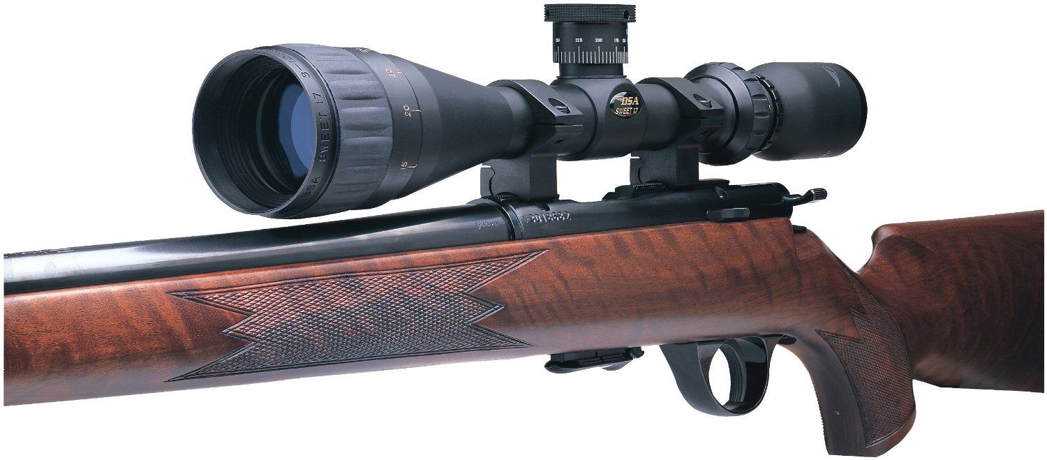 BSA® 3 - 12x40 Sweet 17™ Rifle Scope