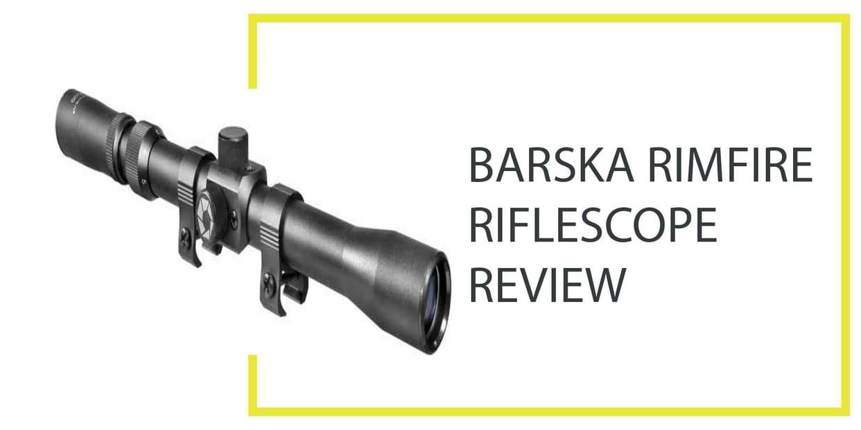 Barska Rifle Scope
