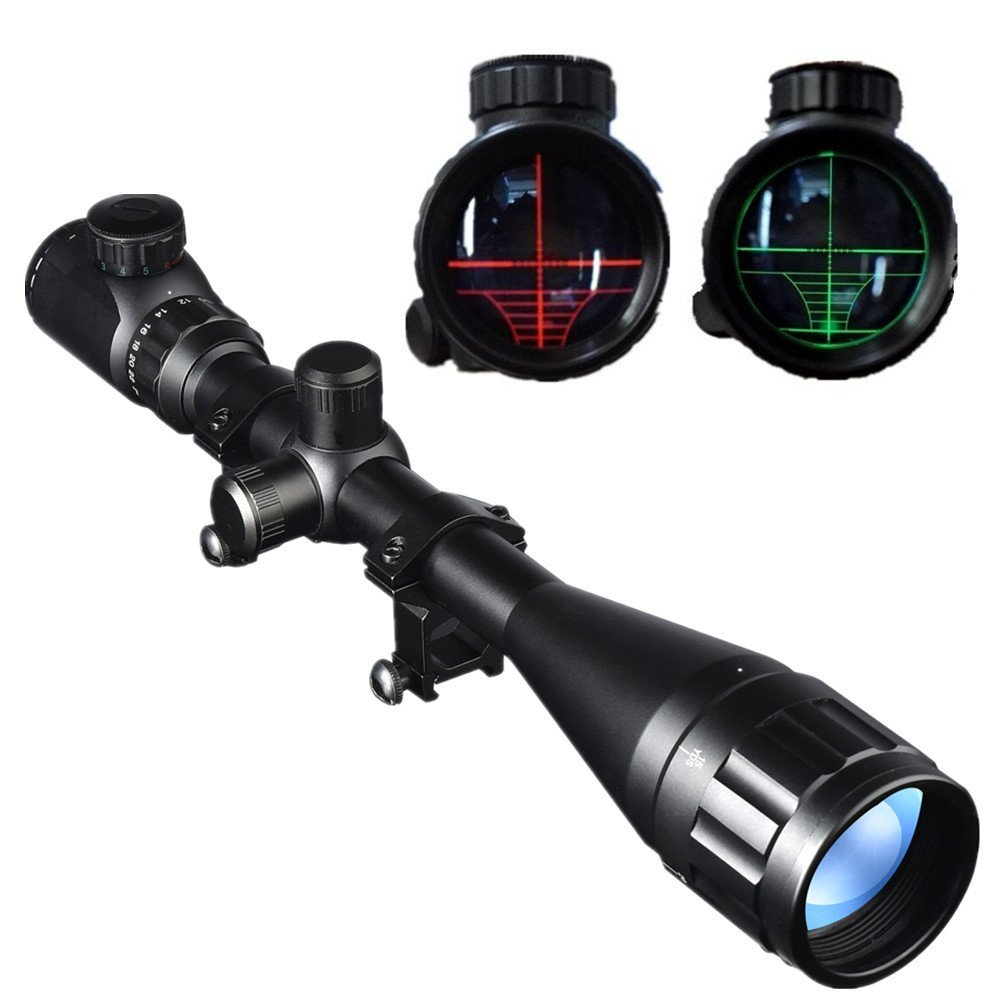 Beileshi 6-24X50mm AOEG Optics Hunting Rifle Scope