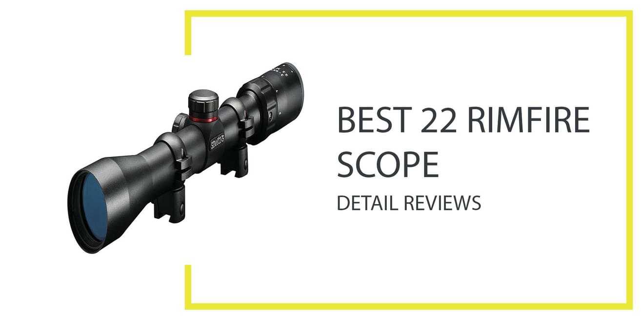 Best 22 Rimfire Scope
