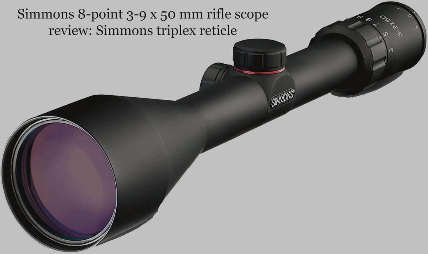 Simmons 8-point 3-9 x 50 mm