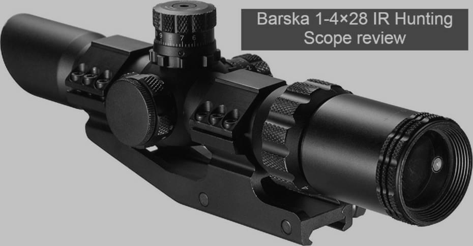 Barska 1-4x28 ir hunting scope