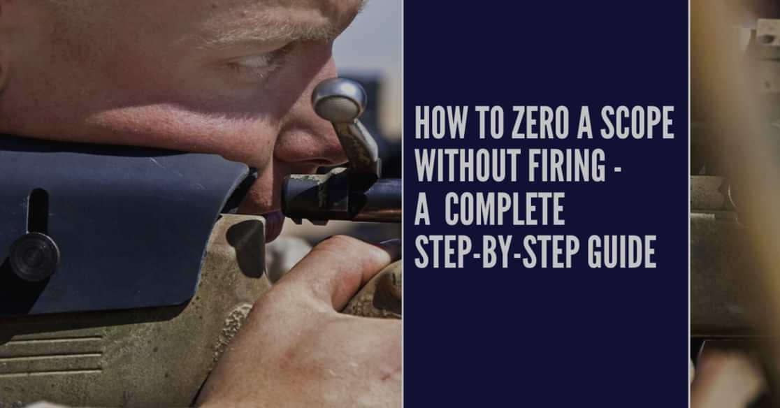 how to zero a scope
