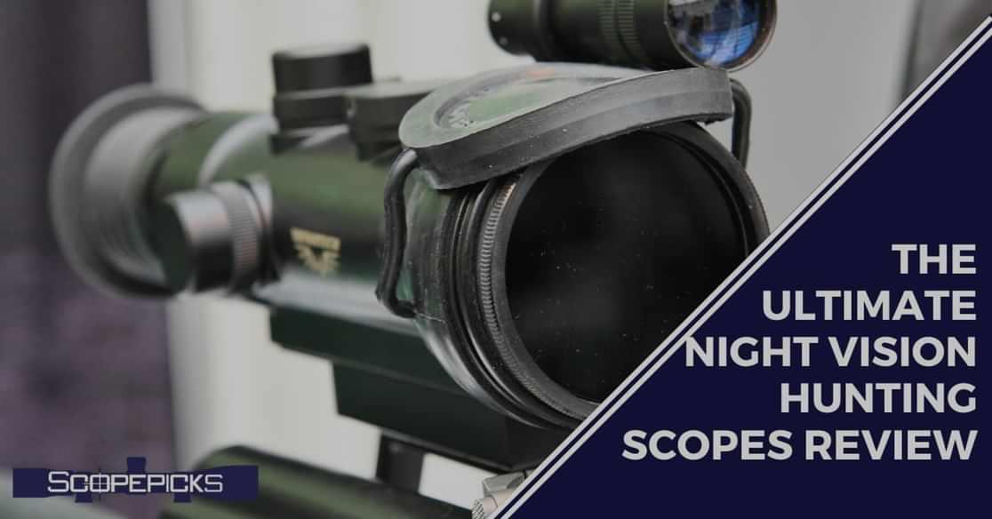 night vision hunting scope