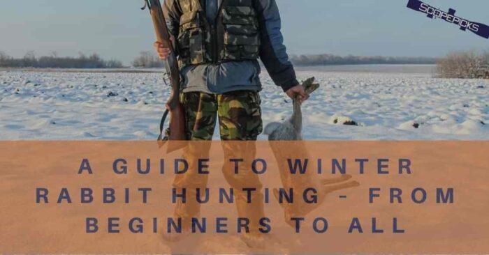 winter rabbit hunting