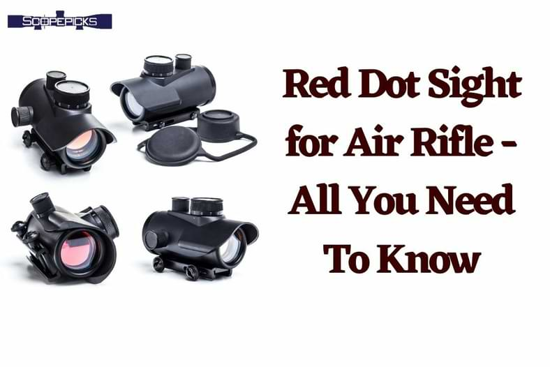 red dot sight for air rifle